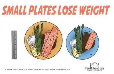 © Wansink and Van Ittersum, 2014. Cornell University · Food and Brand Lab.  Link: http://foodpsychology.cornell.edu/discoveries/large-plate-mistake This work is licensed under a Creative Commons Attribution-NonCommercial-NoDerivatives 4.0 International License