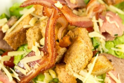 Salad wit bacon